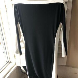 Black & White chic work attire